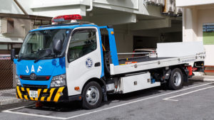 California law on towing